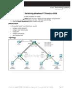 ESwitching Practice SBA FormB-1 Instructions