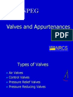 Valves and Appurtenance s
