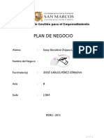 Formato Plan de Negocio Daisy