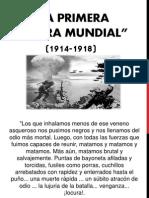 Primero Guerra Mundial 1 y 2
