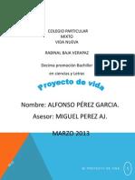 Proyecto de Vida Alfonso Perez