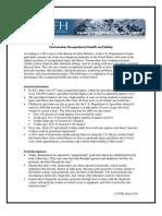 Farmworker Health Factssheets