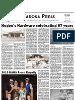 Kadoka Press - Thursday, April 11, 2013