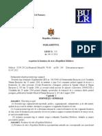 Ajustarea Legii Cu Privire La Frontiera de Stat a Republicii Moldova