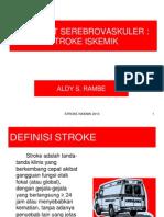 Stroke Iskemik 2013