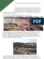 Transport ferroviaire. Construction de l'échangeur La Brèque et port 2000