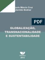 Livro Globalização, Transnacionalidade e Sustentabilidade