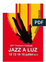 Festival Jazz a Luz 2013 in Luz St Saveur, France