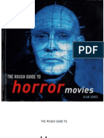 Alan Jones - Horror Movies [Rough Guides]