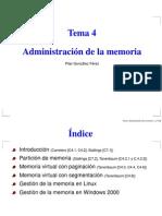 Admon Memoria
