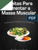eBook Gratuito Receitas Ganhar Massa Muscular