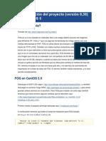 FOG instalación del proyecto (versión 0,30) sobre CentOS 5