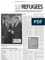 Julie Kay, Biglaw Refugees, Daily Business Review, Mar. 11, 2013, at A8