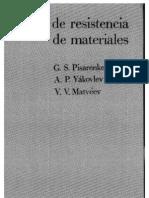 Manual de Resistencia de Materiales, 1° ED. - G. S. Pisarenko