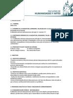 Programa Problemática  del arte latinoamericano del SXX. Comisión D.