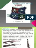 ARMAS UTILIZADAS  DURANTE EL DESCUBRIMIENTO DE AMERICA.pptx