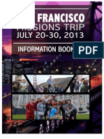 San Francisco Missions Trip Information Packet 2013