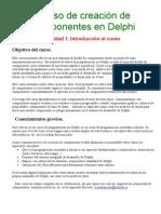 Curso de creación de componentes en Delphi