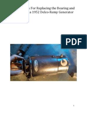 Delco Remy Generator Wiring Diagram