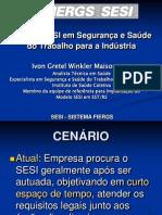 Modelo SESI em Segurança e Saúde do Trabalho para a Indústria
