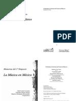 Memorias de La Musica en Mexico