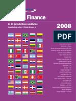 Project Finance 2008
