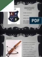 Armas Utilizadas en La Conquista-Alex Faican 1ro BGU D