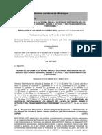 NORMA DE REFORMA A LA .docx;NORMA PARA LA GESTIÓN DE PREVENCIÓN DE LOS RIESGOS DEL LAVADO DE DINERO, BIENES O ACTIVOS