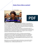 The Trials of Rep. Maxine Waters