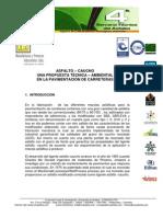 Asfalto Caucho Una Propuesta Tecnicoambiental