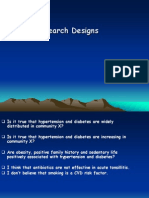 Dr. Jaddou - Research Designs