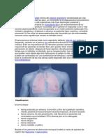 Cuáles son las causas de la enfermedad pulmonar obstructiva crónica o EPOC