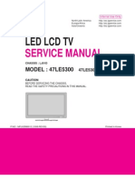 Manual Mais Esquema Tv Lg Led_lcd_47le5300 47le5300-Sa (Lj01d) 47le5300-Sa