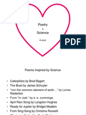 Poems About Science 2