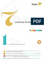 Seven Trends in Leadership Development
