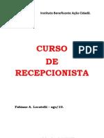 CURSO de Recepcionista Acao Cidada