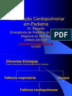 Reanimação Cardiopulmonar em Pediatria