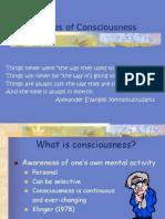 Consciousness Psychology