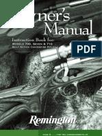 Remington Model 710 Bolt Action Rifle Manual