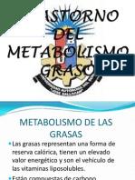 Trastorno Del Metabolismo Graso