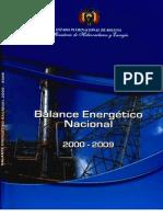 Balance Energetico