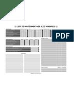 Mantenimiento blog wordpress (blanco y negro)