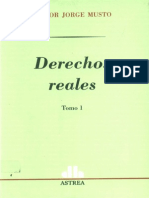 Derechos Reales - Tomo i - Nestor Jorge Musto