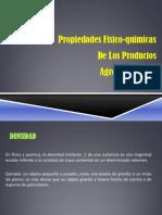 Propiedades Fisico-Quimicas 2013