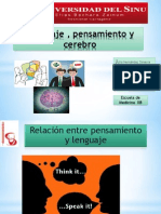 Lenguaje , Pensamiento y Cerebro (1)