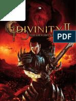 Divinity II - The Dragon Knight Saga - Manual - PC