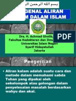 Per 5 -Mengenal Aliran Kalam Dalam Islam