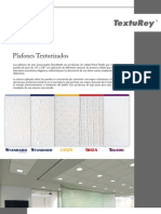 Folleto Plafones Texturizados TextuRey