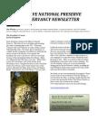 Spring 2013 Newsletter of the Mojave National Preserve C onservancy