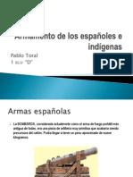 Armamento de los españoles e indígenas.pptx